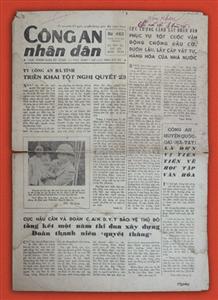 Bút tích của Chủ tịch Hồ Chí Minh trên Báo Công an nhân dân