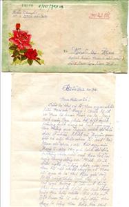 Sưu tập những lá thư thời chiến của cán bộ chiến sỹ Công an nhân dân