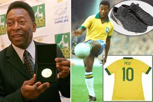 Pele bán đấu giá hơn 2000 kỷ vật của đời mình