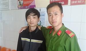 Chiến sĩ Cao Minh Ngọc dũng cảm cứu người bị đuối nước