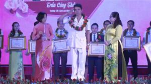 """Ba thầy giáo Công an đạt Giải thưởng """"Nhà giáo trẻ tiêu biểu"""""""