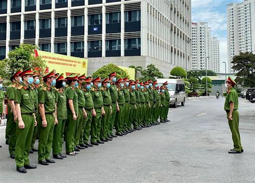 Tiếp tục tăng cường cán bộ chiến sĩ các đơn vị trực thuộc Bộ Công an đảm bảo an ninh, trật tự và phòng, chống dịch bệnh Covid-19 tại các tỉnh phía Nam