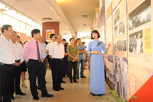 Khai mạc Triển lãm  Chủ tịch Hồ Chí Minh với phong trào Thi đua yêu nước