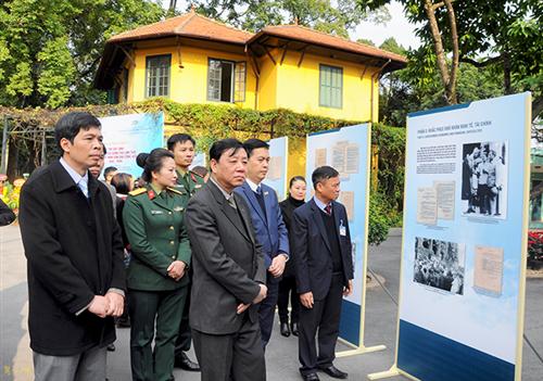 Trưng bày bảo vật quốc gia Tập Sắc lệnh của Chủ tịch Chính phủ Lâm thời nước Việt Nam Dân chủ Cộng hòa 1945 - 1946