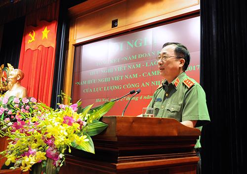 """Tổng kết """"Năm Đoàn kết hữu nghị Việt Nam - Lào  và Năm Hữu nghị Việt Nam – Campuchia"""""""