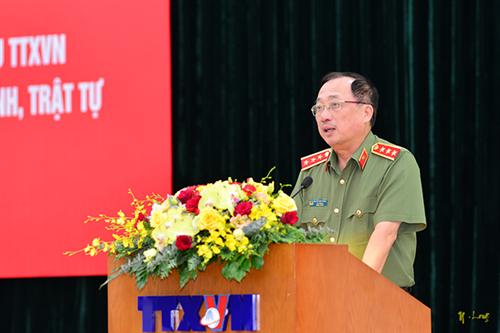 Giao lưu, gặp mặt điển hình tiên tiến Công an nhân dân và các nhà báo tiêu biểu của Thông tấn xã Việt Nam trong công tác tuyên truyền nhiệm vụ bảo vệ an ninh, trật tự