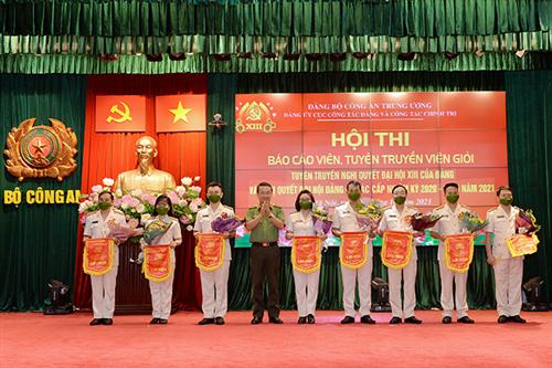 Hội thi Báo cáo viên, tuyên truyền viên giỏi Cục Công tác đảng  và công tác chính trị
