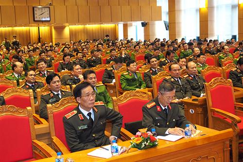 Đảng ủy Công an Trung ương, Bộ Công an tổ chức Báo cáo thời sự trực tuyến về Luật Công an nhân dân (sửa đổi)