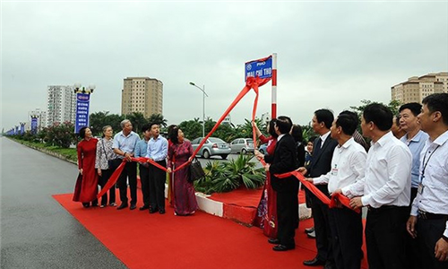 Viện Lịch sử Công an dự Lễ Gắn biển tên 3 đường phố mới tại Hà Nội
