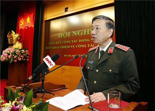 Đảng ủy Công an Trung ương tổng kết công tác Đảng năm 2018 và triển khai nhiệm vụ công tác năm 2019