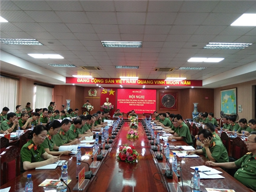 Bộ Công an giao ban công tác đảng, công tác chính trị trong Công an nhân dân 6 tháng đầu năm 2019 khu vực phía Nam