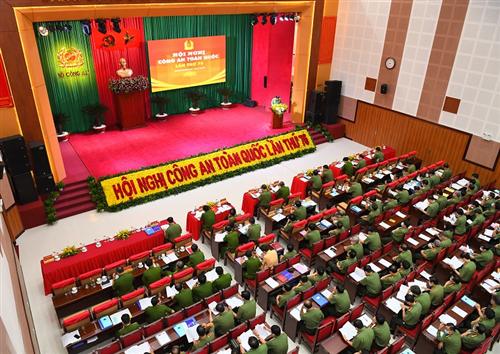 Đảng ủy Công an Trung ương, Bộ Công an tổ chức Hội nghị Công an toàn quốc lần thứ 76