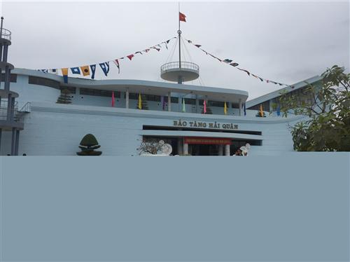 """Bảo tàng Hải quân - điểm đến hấp dẫn trong hành trang du lịch thành phố """"hoa phượng đỏ"""""""