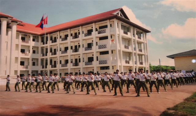 25.Buổi tập võ tự vệ của sinh viên Đại học Công an nhân dân