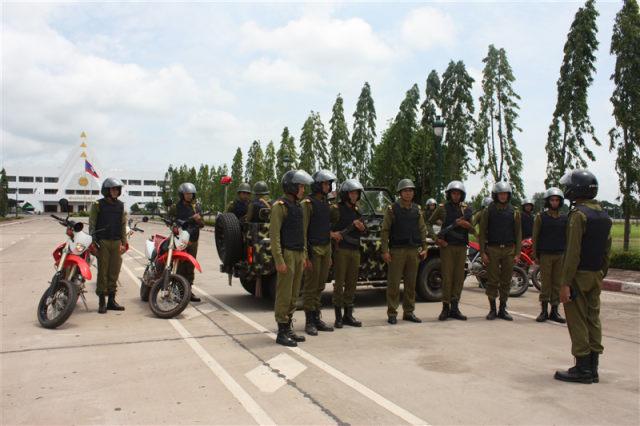31.Lực lượng An ninh Lào luôn sẵn sàng chiến đấu