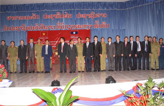 100.Đoàn đại biểu Học viện An ninh nhân dân, Bộ Công an Việt Nam sang làm việc tại Lào.