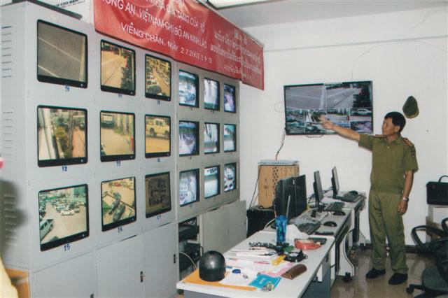 121.Lễ bàn giao hệ thống Camera quà tặng của Bộ Công an Việt Nam cho Bộ an ninh Lào, ngày 2.7.2007