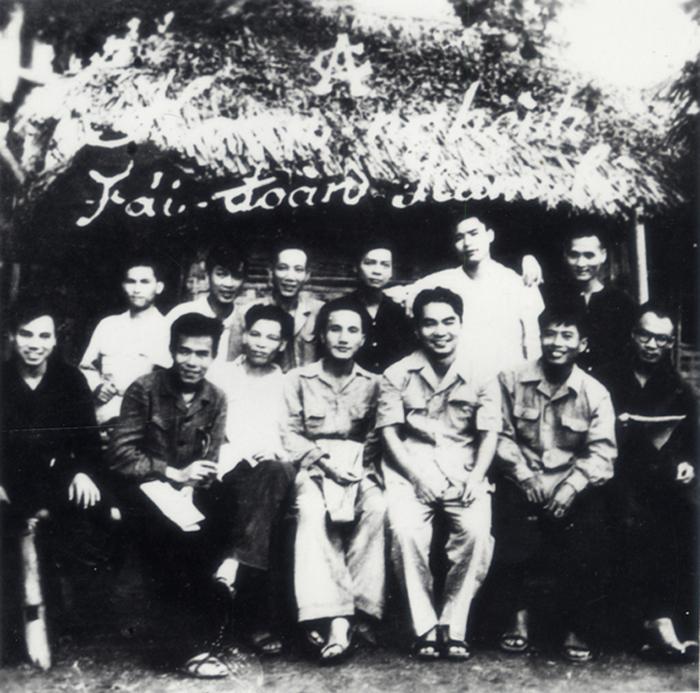 2.Đại biểu Công an Nam Bộ dự Hội nghị Công an toàn quốc lần thứ 5 tại Sơn Dương - Tuyên Quang, tháng 1.1950