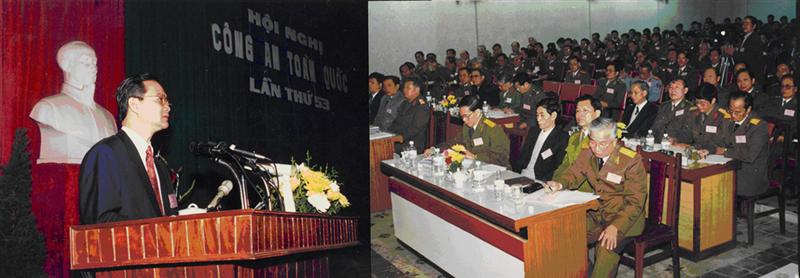 37.Thủ tướng Chính phủ Nguyễn Tấn Dũng tại Hội nghị Công an toàn quốc lần thứ 52, ngày 15.01.1997