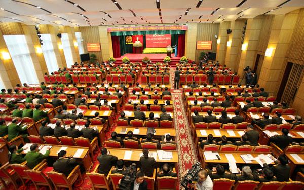 53. Toàn cảnh hội nghị Công an toàn quốc lần thứ 72 năm 2016