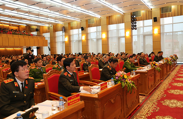 56. Các đại biểu tham dự Hội nghị Công an toàn quốc lần thứ 72 năm 2016