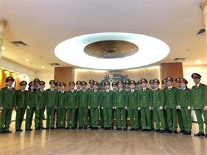 Bộ Tư lệnh Cảnh sát cơ động, Tiểu đoàn Cảnh sát đặc nhiệm số 1 tham quan Bảo tàng Công an nhân dân