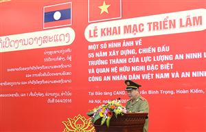 55 năm xây dựng, chiến đấu, trưởng thành của lực lượng an ninh Việt - Lào