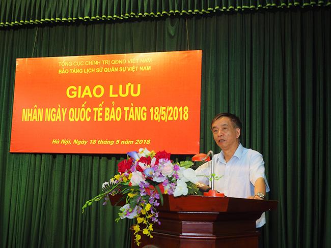 Bảo tàng Lịch sử Quân sự Việt Nam tổ chức buổi giao lưu  nhân Ngày Quốc tế Bảo tàng 18/5/2018