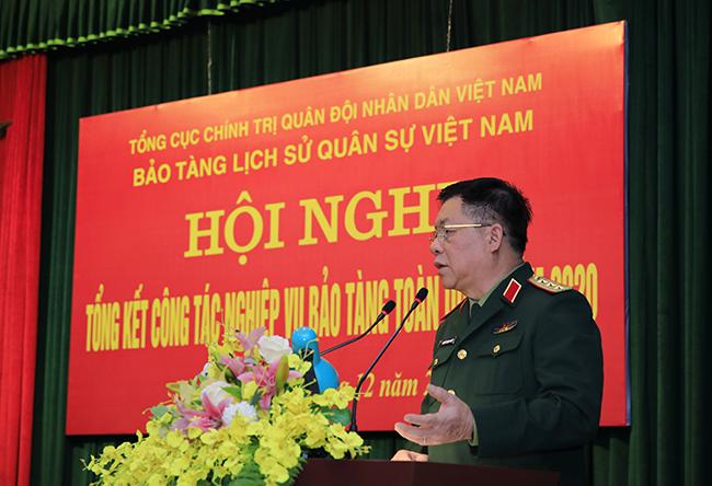 Hội nghị Tổng kết công tác nghiệp vụ bảo tàng toàn quân năm 2020